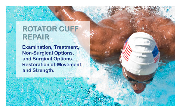 Rotator Cuff Repair - Examination, Treatment, Non-Surgical and Surgical Options, Restoration of Movement and Strength